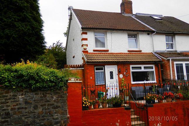 Thumbnail Semi-detached house to rent in Coldra Road, Tynewydd, Rhondda Cynon Taff.