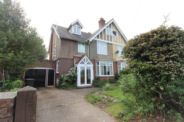 Thumbnail Semi-detached house for sale in Fornham Road, Bury St. Edmunds