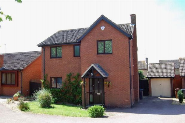 Thumbnail Detached house to rent in Whaddon Close, West Hunsbury, Northampton