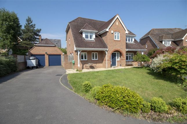 Thumbnail Detached house for sale in Wherwell Drive, Fleet