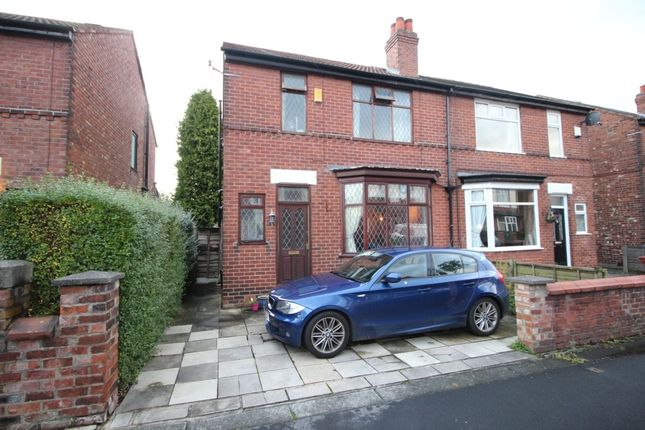 Thumbnail Semi-detached house for sale in Belgrave Crescent, Stockport