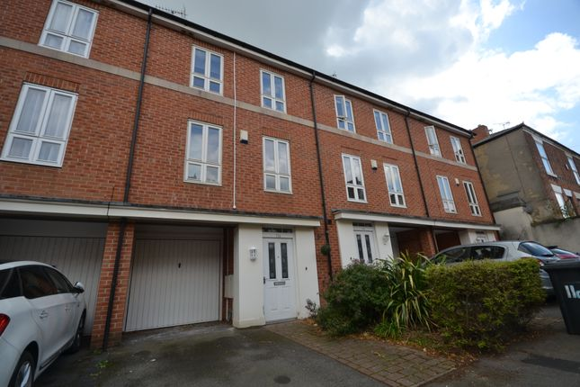 Thumbnail 4 bed town house to rent in Edward Street, Derby