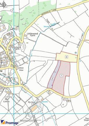 Lotting Plan Land At Parwich