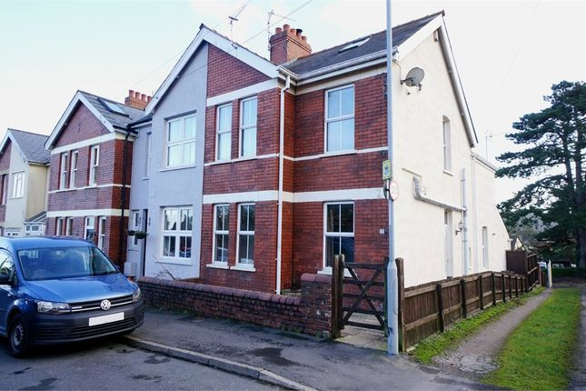 Thumbnail End terrace house for sale in Uskvale Drive, Caerleon, Newport