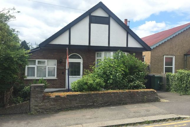 Thumbnail Detached bungalow to rent in Church Avenue, Highams Park