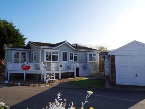 Thumbnail Mobile/park home for sale in Summer Lane Park Homes, Banwell, Somerset