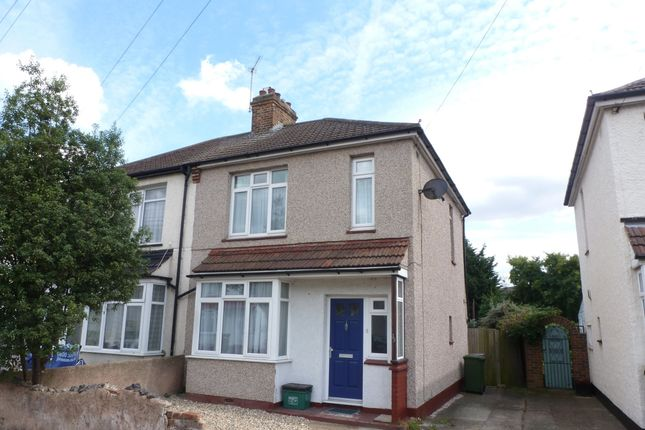 Thumbnail Semi-detached house to rent in Lincoln Road, Erith