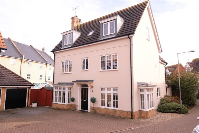 Thumbnail Detached house for sale in Taylor Way, Great Baddow, Chelmsford