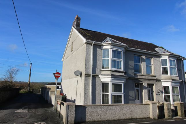 Thumbnail Semi-detached house for sale in Llanybydder, Carmarthenshire