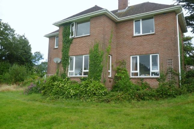 Thumbnail 4 bed detached house to rent in Church Street, Morchard Bishop, Crediton