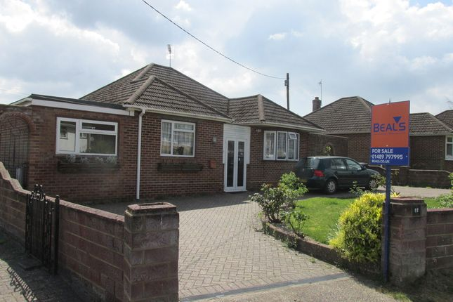 Thumbnail Detached bungalow for sale in Granada Road, Hedge End, Southampton
