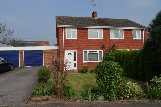 Thumbnail Semi-detached house to rent in Heathfield Drive, Monkton Heathfield, Taunton