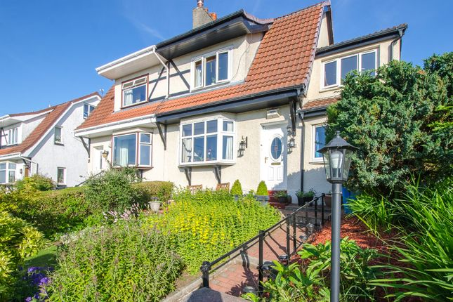 Thumbnail Semi-detached house for sale in Crosslees Drive, Thornliebank, Glasgow