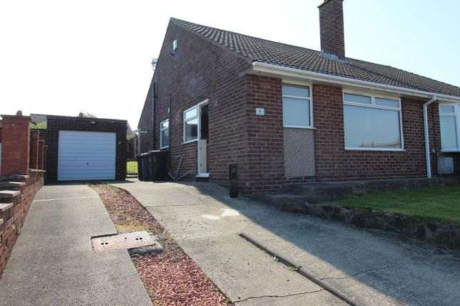 Thumbnail Bungalow to rent in Caledonia, Great Lumley, Chester Le Street