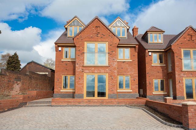 Thumbnail Detached house for sale in Meadow View, Castle Gate, Cannock Wood