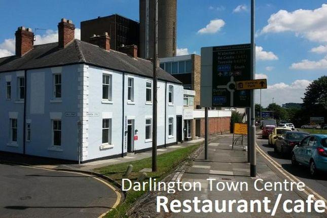 Thumbnail Restaurant/cafe to let in Kendrew Street, Darlington