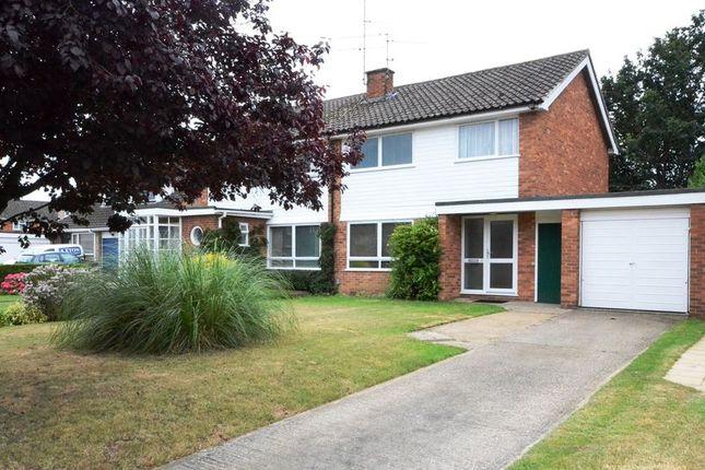 Thumbnail Semi-detached house to rent in Garth Close, Winnersh, Wokingham