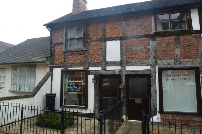 Thumbnail Flat to rent in Barn Lane, High Street, Church Stretton