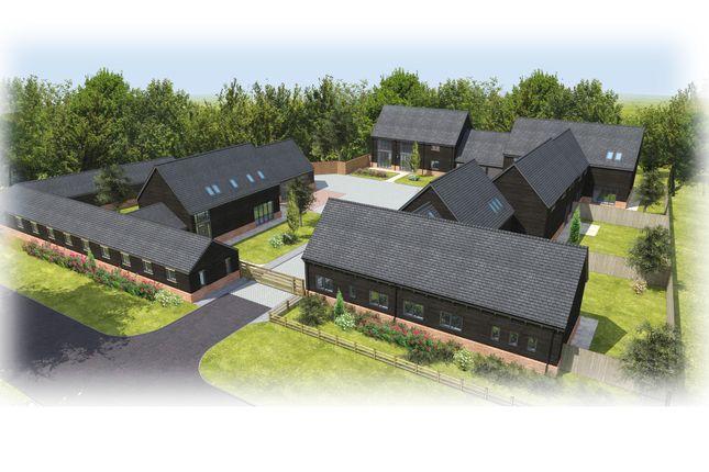 Thumbnail Detached house for sale in Church Farm Court, Roxton