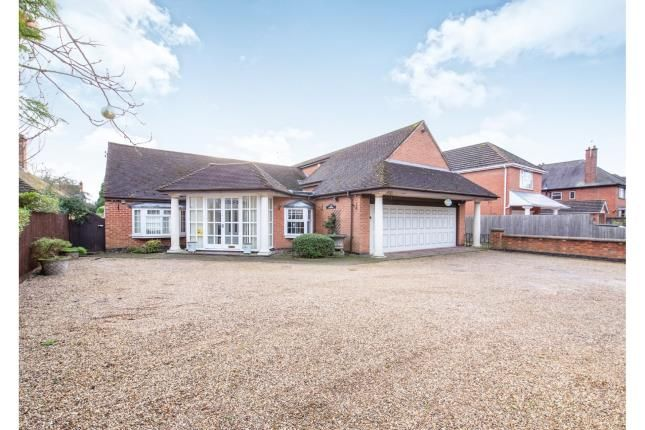 Thumbnail Bungalow for sale in Hinckley Road, Leicester Forest East, Leicester, Leicestershire