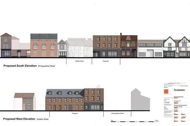 Thumbnail Land for sale in St. Augustines Street, Norwich