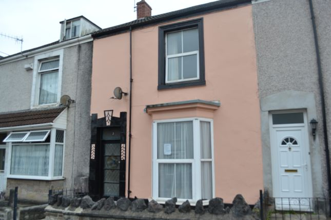 Thumbnail Terraced house to rent in George Street, Swansea