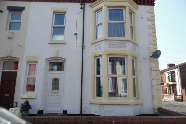 Thumbnail Flat to rent in Stuart Road, Walton, Liverpool