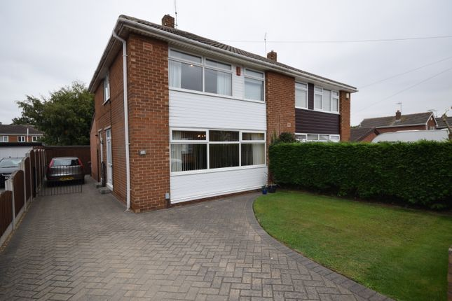 Thumbnail Semi-detached house for sale in Badsworth Road, Warmsworth, Doncaster