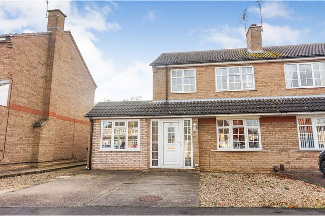 3 bed semi-detached house for sale in Burghley Park Close, Lincoln