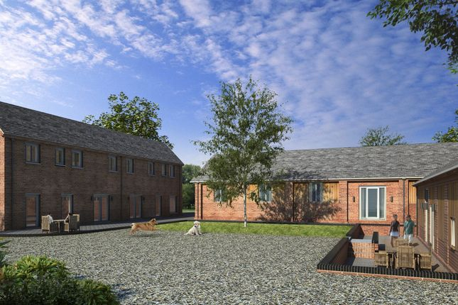 Thumbnail Semi-detached house for sale in Coole Barns, Coole Lane, Nantwich, Cheshire
