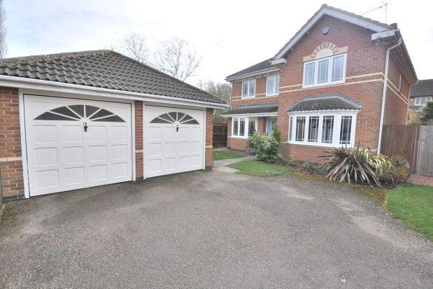Thumbnail Detached house to rent in Belle Baulk, Towcester