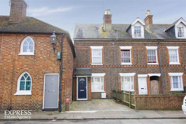 Thumbnail Terraced house for sale in Hever Road, Edenbridge, Kent