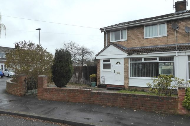 Thumbnail Semi-detached house to rent in Tanmeads, Nettlesworth, Chester Le Street