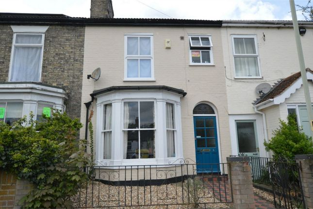 Thumbnail Terraced house for sale in Pembroke Road, Norwich