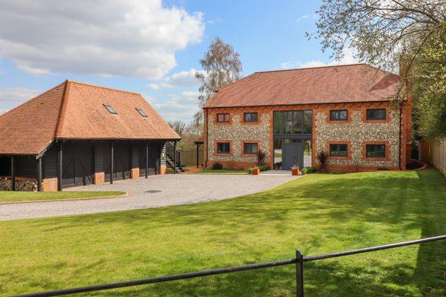 Thumbnail Detached house for sale in Upper Soldridge Road, Medstead, Alton