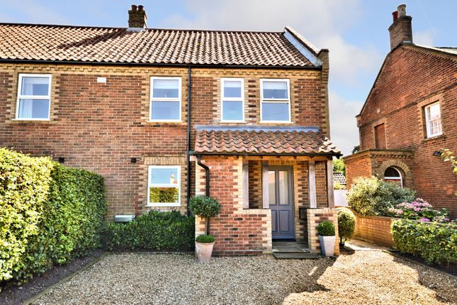 Thumbnail Semi-detached house for sale in Main Road, Brancaster Staithe, King's Lynn