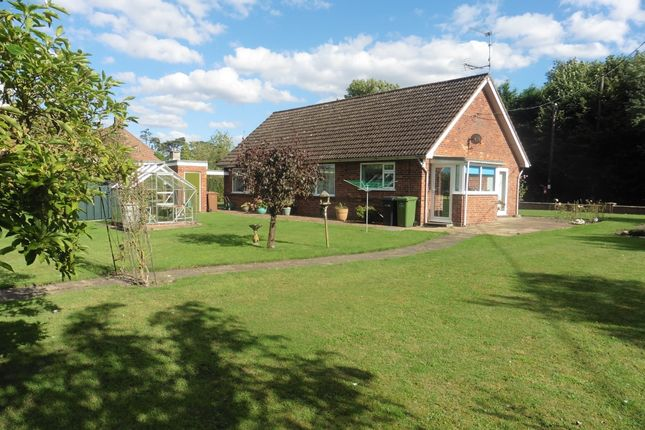 Thumbnail Detached bungalow for sale in Old Fakenham Road, Coxford