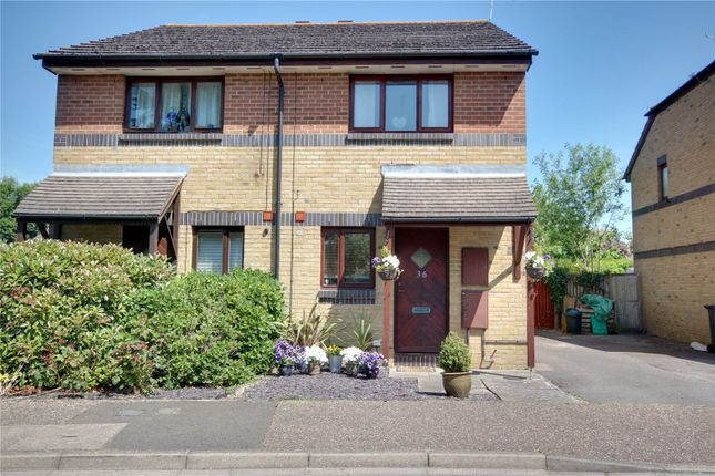 Thumbnail Semi-detached house for sale in Carisbrooke Drive, Durrington, Worthing, West Sussex