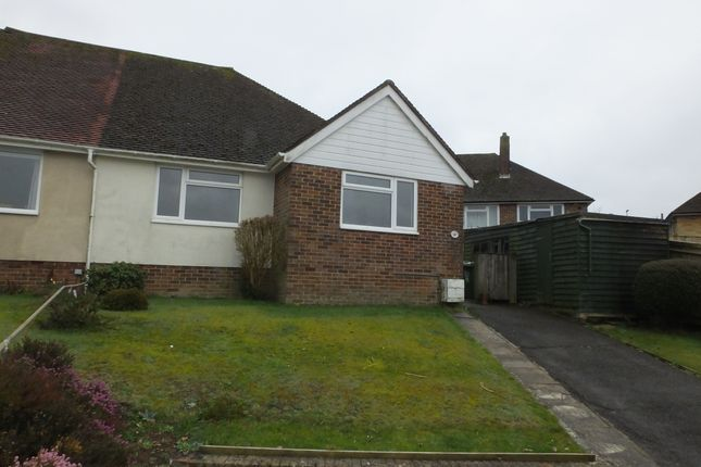 Thumbnail Semi-detached bungalow to rent in Cuckmere Rise, Heathfield