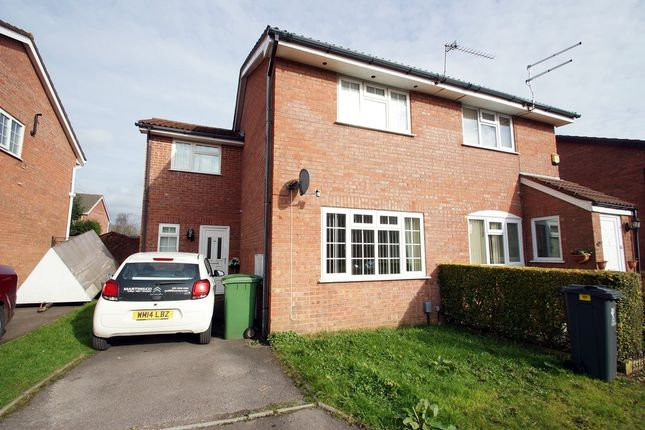 Thumbnail Semi-detached house for sale in Caradoc Close, St. Mellons, Cardiff