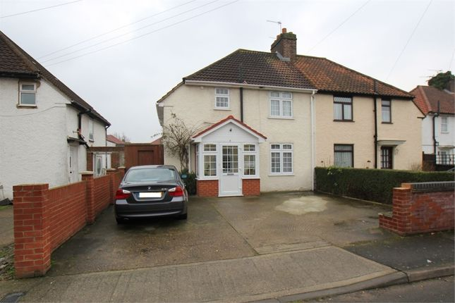 Thumbnail Semi-detached house for sale in West Walk, Hayes