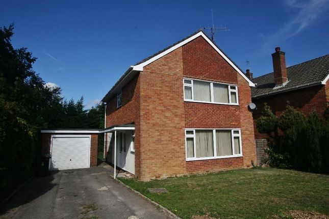 Thumbnail Detached house to rent in Poynings Crescent, Basingstoke