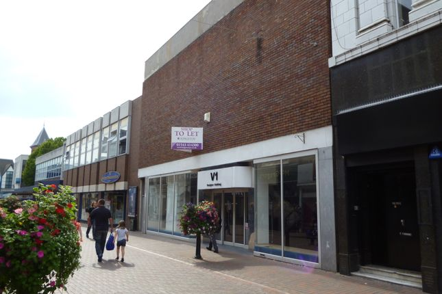 Thumbnail Retail premises for sale in 12-14, Crabbery Street, Stafford