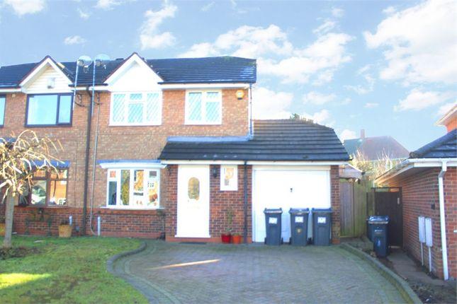 Thumbnail Semi-detached house for sale in Bagshawe Croft, Birmingham, West Midlands