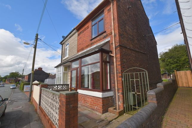 Thumbnail Semi-detached house to rent in High Street, Talke