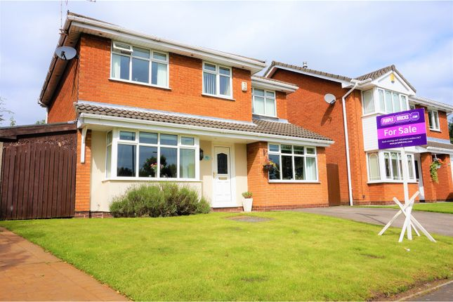 Thumbnail Detached house for sale in Nicol Mere Drive, Wigan