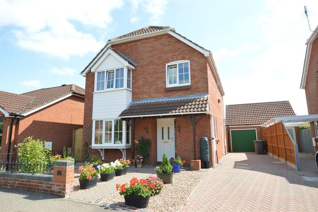 Thumbnail Detached house for sale in Shrubwood Close, Heckington, Sleaford