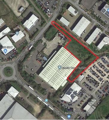 Thumbnail Commercial property for sale in Land At Crowbridge Road, Orbital Park, Ashford, Kent