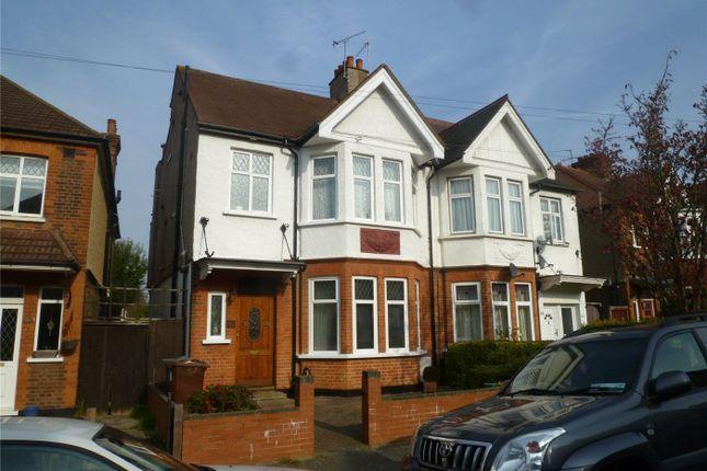 Thumbnail Semi-detached house to rent in Longley Road, Harrow
