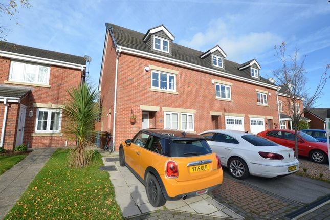 Thumbnail Town house for sale in Ashtree Gardens, Millhouse Green, Sheffield